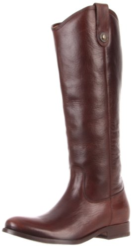 FRYE Womens Melissa Button Boot Dark Brown Soft Vintage Leather Vuuk9bR