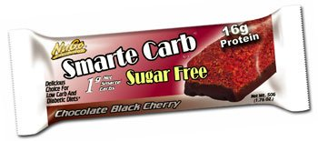 NuGo Nutrition Smarte Carb Black Cherry Bar 12 Bar(S)