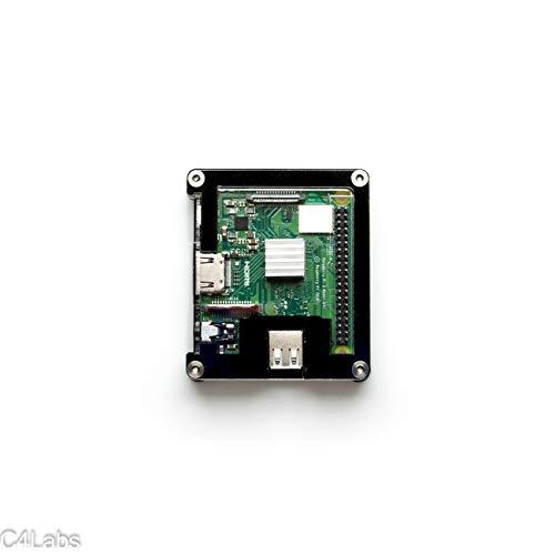 Classic Zebra - Zebra Classic Case - Raspberry Pi 3 A+ ~ Black Ice
