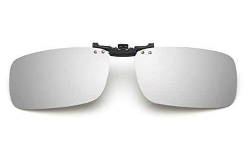 up Hombre ANNA® Gafas Unisex Silver ELSA Las de Mercurio Mujer en Polarizado Sol GLS Clip Flip VF amp; F15 wAq4g0