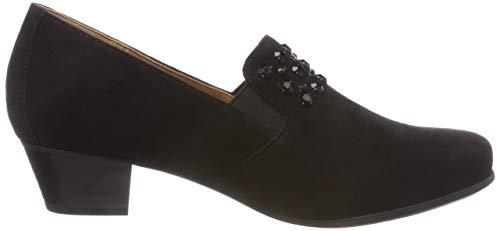 Noir 4 24300 Suede Mocassins Caprice black Femme qwaFvtnP
