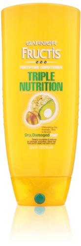 Nutrition Fructis Triple Conditioner (Garnier Fructis Triple Nutrition Conditioner, 25.40 Fluid Ounce)