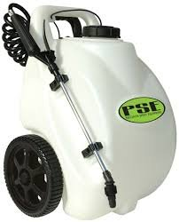 Workhorse LAWN & GARDEN WHEEL SPRAYER 5 GALLON RECHARGEABLE 12 VOLT