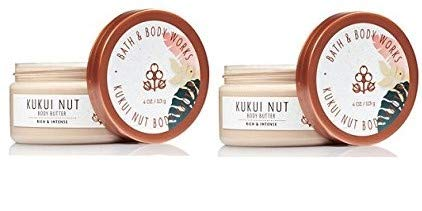(Bath and Body Works Kukui Nut Body Butter Set of 2 Ounces Each)