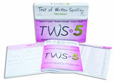 DSS TWS-5: Test of Written Spelling–Fifth Edition (Complete Kit) by DSS