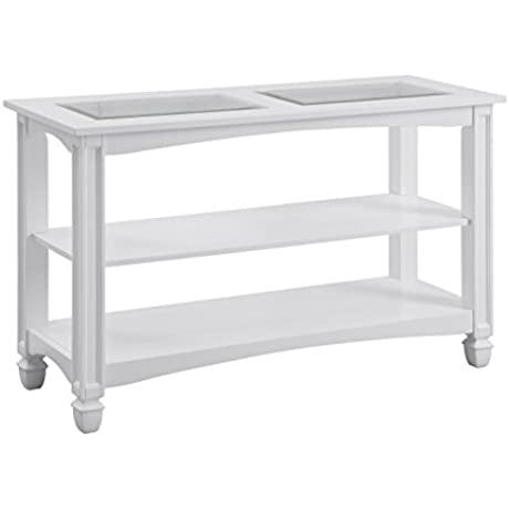 Bayside White Console Table