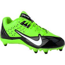 Nike Alfa Strike 3/4 Td Oss mens 8,5 M (svart / Vit / Electricgreen)