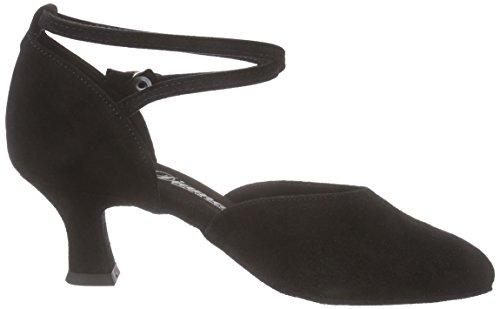 Diamant Damen Tanzschuhe 058-068-001, Women's Ballroom Dance Shoes Black (Schwarz)