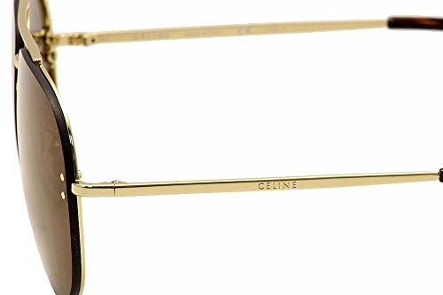 81858defd20 Celine Mirror CL 41391 J5G LC Gold Metal Aviator Sunglasses ...