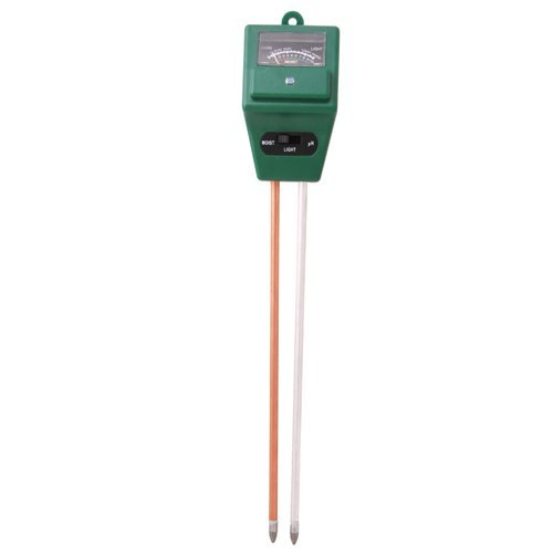 3-in-1 Moisture Meter with Light & PH Test Function