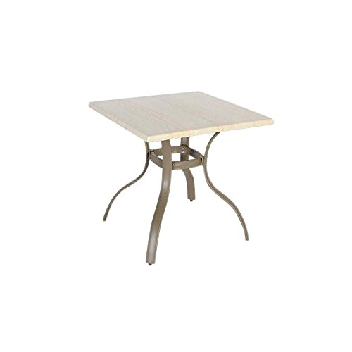 Westin 28 in. Square Werzalit Patio Top Bistro Table