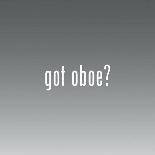 Got Oboe ((2x) Got Oboe - Decal - Die Cut - Vinyl)