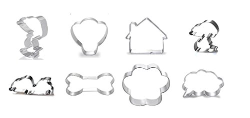 Peanuts Snoopy Cookie Cutter Set of 8 with Matching - Sunglasses 2017 Jr