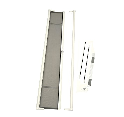 (Brisa Retractable Screen Door Finish: White)