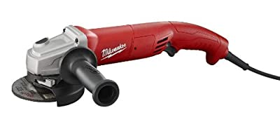 Milwaukee 6121-30 4-1/2-Inch Small Angle Grinder Trigger Grip, Lock On
