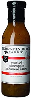product image for Roasted Pineapple Habanero Sauce by Terrapin Ridge Farms – One 14.5 oz Bottle
