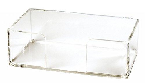 Acrylic Guest Towel Holder Tray Bathroom Paper Hand Towels Caddy Basket Holder Bathroom Accessories by Acrylic