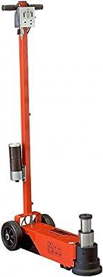 "ESCO 92002 YAK 44 Ton Air Hydraulic Jack, 2 Stage, Low Profile, 5.91"" - 19.82"" Lifting Range"