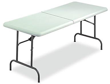 amazon com iceberg 65453 indestructable too bi fold folding table