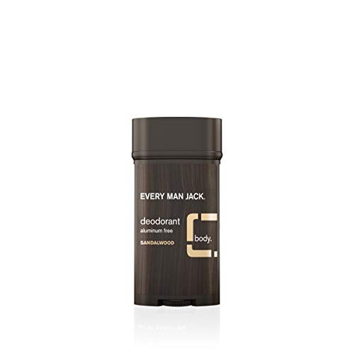 Every Man Jack Deodorant, Sandalwood, 3.0-ounce