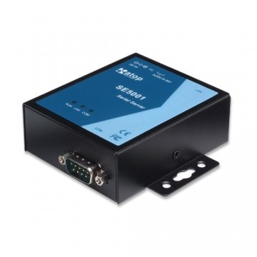 Atop 1-Port Serial Device Servers, supporting RS232/422/485, DB9(M) - All-in-One Part No.SE5001