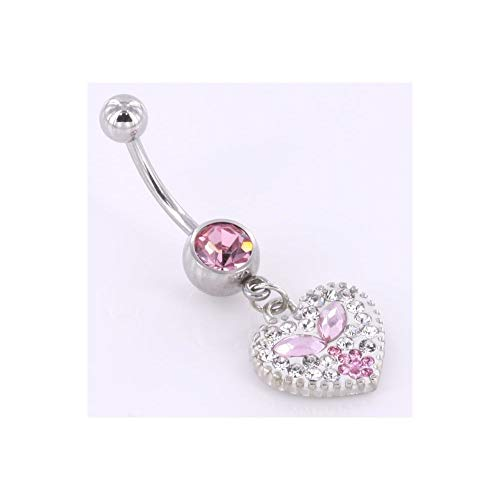 Crystal Explosion Belly Button - Painful Pleasures 14g 7/16