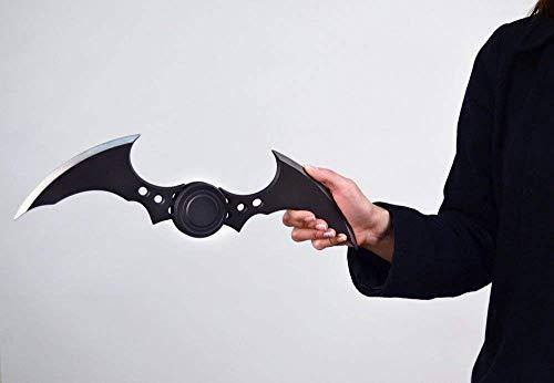 JPTACTICAL Comics Batman Batarang Arkham Knight Trailer Prop Replica Batarangs Halloween Cosplay