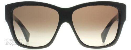 - Alexander McQueen 4189S 08X Dark Brown Leather 4189 Wayfarer Sunglasses
