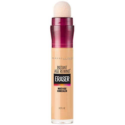 Maybelline New York Instant Age Rewind Eraser Dark Circles Treatment Concealer, Sand, 0.2 fl. oz.