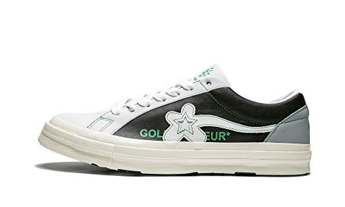 Converse Golf Le Fleur Ox (Barely Blue/Black/Egret, 8)