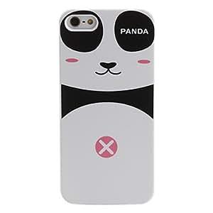 Caso duro del patr¨®n de la panda para el iphone 5/5s