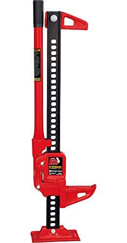 "Big Red TRA8335B Torin 33"" Ratcheting Off Road/Utility Farm Jack, 3 Ton (6,000 lb) Capacity"