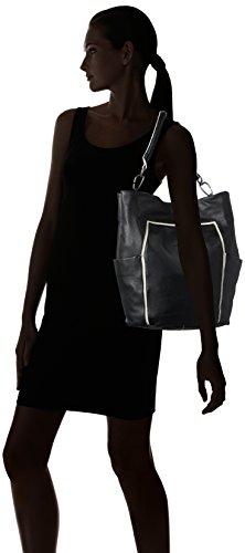 Liebeskind Berlin Jeanys7 Esmono - Bolso de hombro Mujer Schwarz (nairobi black)