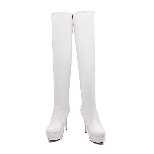 BalaMasa Abl09806, Plateforme femme Blanc