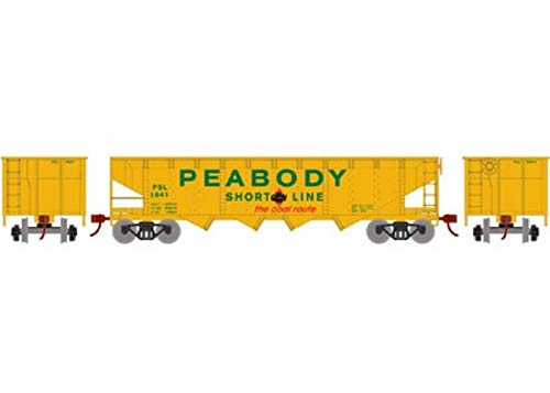 t 4-Bay Offset Hopper/Coal Load Peabody Short Line/PCCX 1041 ()