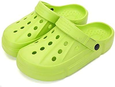 FZUU Mens Women Breathable Garden Clogs Comfortable Slip On Beach Sandals Lightweight Slippers Water Shoes