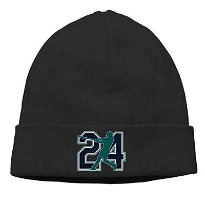 Moore Me Men's Winter Warm Beanie Hats Seattle Griffey The Kid Slouchy Beanie for Women