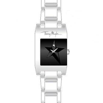 Thierry Muggler Damen-Armbanduhr Analog Quarz Edelstahl 4709501