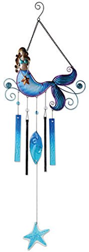 Sunset Vista Designs Beautiful Mermaid Wind Chime, 37″ Review