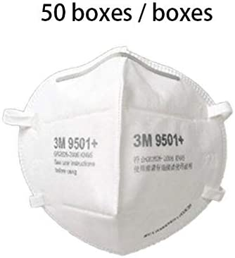 Folding Mouth 9501 Protection Respirator 50pcs Dust Mask N95 3m