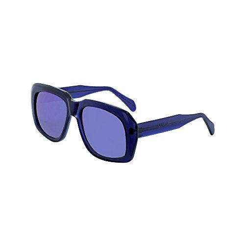 Ultra Goliath 1 One Sunglasses Navy Blue Crystal Polarized Lens Robert De - Sunglasses Goliath