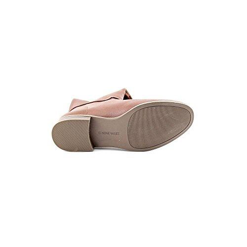 Nine West Contigua Femmes Beige Cuir Chaussures Bottes Pointure EU 37,5