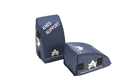 Athletic Specialties Youth Catcher's Knee Support Navy
