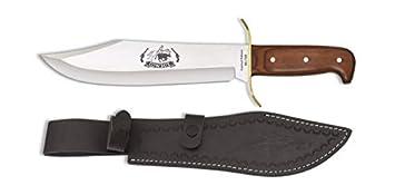 Albainox - 32284 - Cuchillo Albainox Cowboymadera. Hoja: 25 - Herramienta para Caza, Pesca, Camping, Outdoor, Supervivencia y Bushcraft