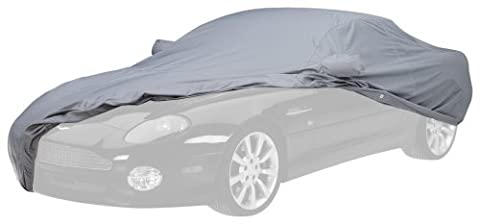 Covercraft Custom Fit Car Cover for Chevrolet Corvette (WeatherShield HP Fabric, Gray) - Covercraft Universal Cab Cover