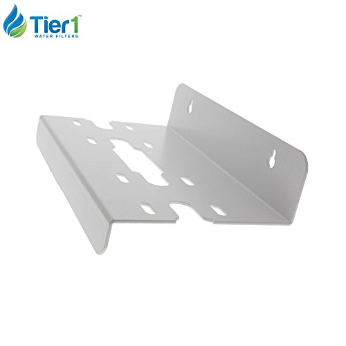 Tier1 2WB-SS Double Filter Housing Mounting Bracket - Clear/Blue by Tier1