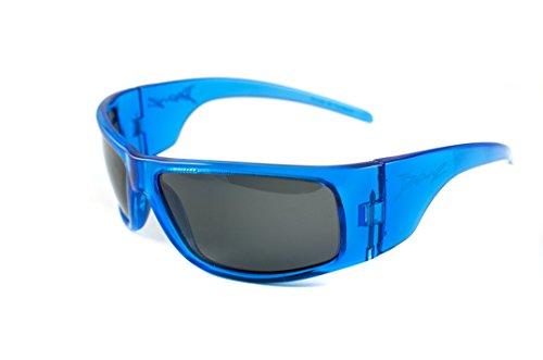 Baby Banz Little Boys'  Replaceable Lenses Sunglasses, Pacific Blue, 4-10 - Sunglasses Baby Banz Case