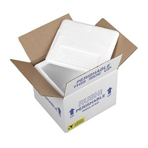 Insulated Shipping Kit, 16-1/2 In. L, PK 2