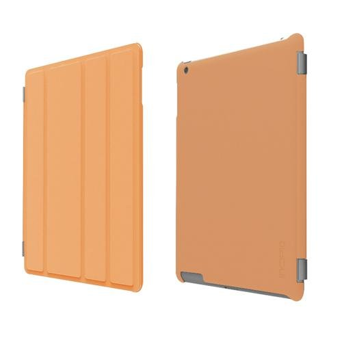 Incipio iPad 2 Smart Feather - Back Cover Only - Ultralight Hard Shell Case - Orange