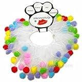 Mirage Pet Products Birthday Fuzzy Wuzzy oochers S (8'') Fuzzy, Small
